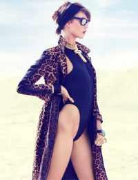 Карли Клосс в турецком Vogue, июнь 2013